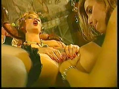 Anal Euro group sex with facials