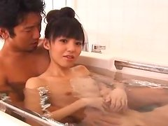 Aino Kishi gets her hairy pussy amazingly licked and pounded