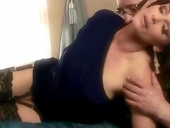 Sexy brunette Cameron Cruise gets fondled and tenderly fucked