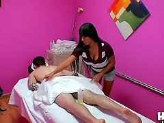 Gaia is a professional masseur but