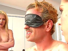 Chad Diamond and Tiffany Fox are taking revenge for the betrayal of  Alex Chance with strap-ons
