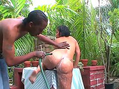 Big ass Lisy gets hard drilled by horny black dude with a massive huge cock