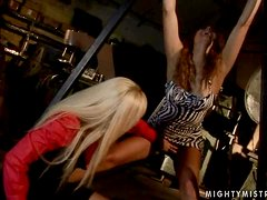 Kinky hotties Cindy Hope and Lea Lexxis are having a rough sex
