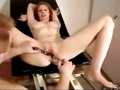 Doctor stretches her hole wide open