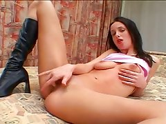 Euroslut Nicole take big American cocks.