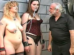 Fat babe being impaled in her tight asshole