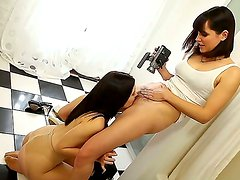 Bobbi Starr and Kimberly Kane are enjoying a great lesbian softcore session together