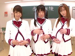Pregnant Japanese Schoolgirls Get a Very Sexy Lesson