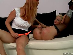 Rough lesbian sex with Katy Parker,Pearl Diamond