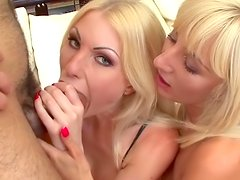 Jenny Simpson and Noell in the hot threesome