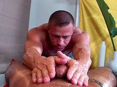 Trey Turner and his oiled friend with big mouth