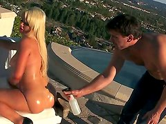 Alexis Ford fucking with her rich lover Manuel Ferrara on the luxury yacht