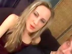Two sexy babes sharing one hard cock
