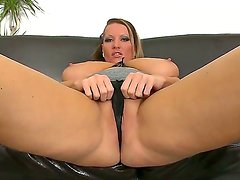 All fat juicy whore Laura gets teased on ehr boobs and deep fingered in her pussy!