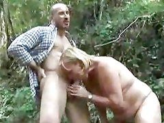 Alluring amateur gets her mouth filled with hard cock