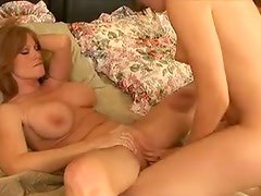 Frisky chicks tribbing and eating wet pussy