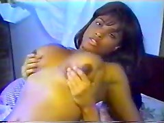 Amateur black girl fuck scene with cumshot