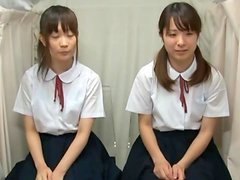 Cute Japanese Girls In Uniform Get Toyed With.