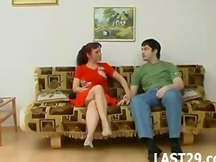 Mature Mom suck and fuck doggystyle