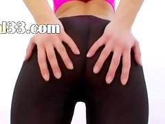blondie teen destroying her tight anus