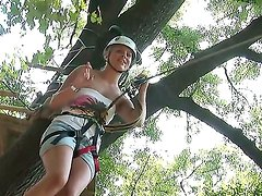 Brandy Smile loves extreme sports that