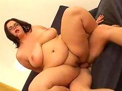 Fat nerd hardcore fuck video