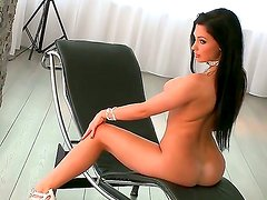 Astonishing model with fascinating eyes, grandiose boobs and flawless ass - Aletta Ocean