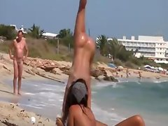 Nudist-Camps-At-The-Beach-Filmed-On-Movie Scene
