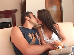 Skinny Jenna Presley foreplay with a blowjob