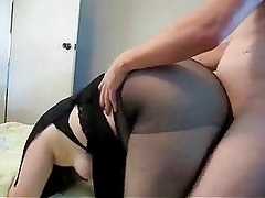 Fat slut Ramona fucked from behind