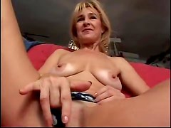 Mature strips and teases solo