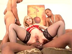 Nina Hartley anal hardcore in foursome