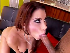 Hardcore interracial scene with a sweet bitch named Alexa Nicole and her fucker