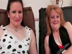 Nasty old and lesbians get horny