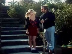 Bearded Dude Banging Sexy Italian Chick Baby Pozzi Outdoors in the Backyard
