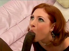 Dirty milf Ginger Blaze got a black neighborhood dick while her husband is in the business trip