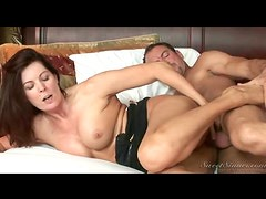 Erotically charged hardcore sex with a sexy milf