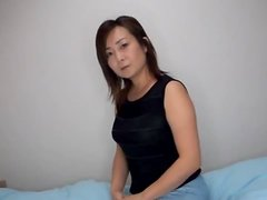 Japanese Milf Fucked With Her Panties On.