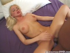 Silvia Saint Takes A Big Black Cock Up Her Butthole.