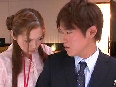 Hot Asami Ogawa Gets Banged in the Office and Takes a Cumshot