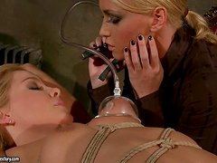 Audience of Mistress Kathia will end up with a hot fetish action