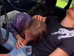 Dirty and really aroused girl Beata makes her partner really
