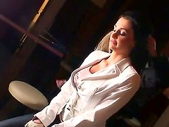 A backstage movie with one of the most gorgeous and hottest babes - Aletta Ocean
