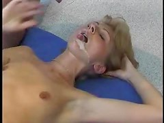 Compilation of cumshots with a horny milf