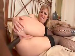 Her ass expands easy for the huge black dick