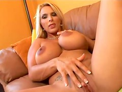 An amazing Holly Halston masturbating solo