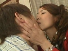 Married Asian Beauty Riding a Hard Cock and Getting Fucked
