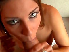 Amazing Rachel Evans makes breathtaking footjob for her lover Rocco Siffredi and gets her trimmed slit drilled