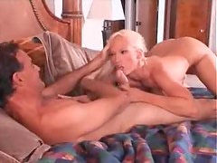 Bleach blonde milf hardcore sex and cumshot