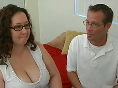 Jem Jewel's dirty mouth gets drilled by tiny cock